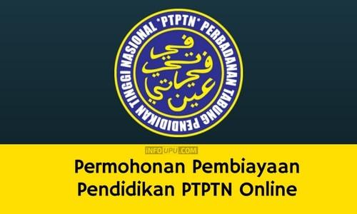 Permohonan Ptptn Secara Online Borang Dan Syarat Pinjaman