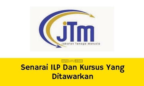 Senarai ILP Dan Kursus Yang Ditawarkan
