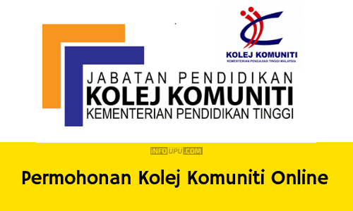 Borang Permohonan Kolej Komuniti Sesi Mac Jun Dan Disember 2020