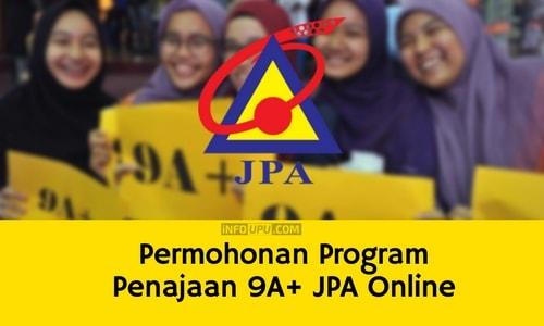 Permohonan Program Penajaan 9A+ JPA