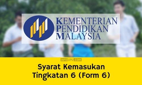 Gagal Permohonan UPU - Tingkatan 6 (Form 6)