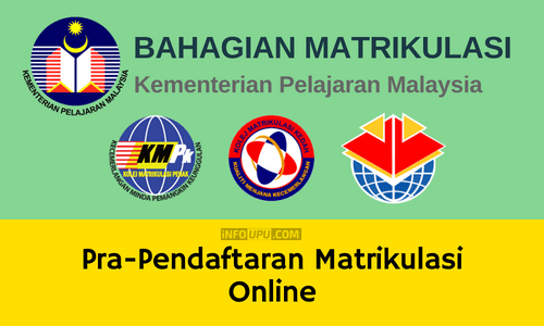 Prapendaftaran Matrikulasi Online Pelajar Yang Berjaya Info Upu
