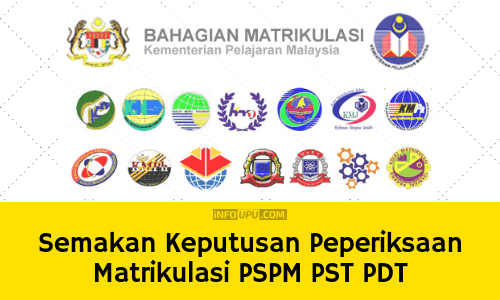 Semakan Keputusan PSPM Peperiksaan Matrikulasi 2018/2019