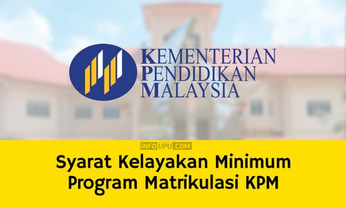 Syarat Kelayakan Minimum Program Matrikulasi KPM