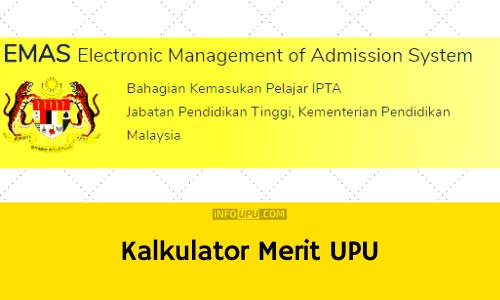 Kalkulator Merit UPU online